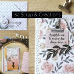 Podcast Isa Scrap et créations