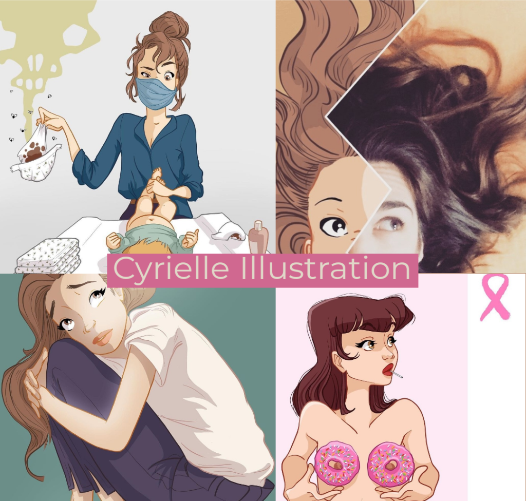 podcast Cyrielle Illustration